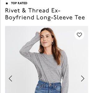 Madewell Ex-boyfriend long-sleeve tee